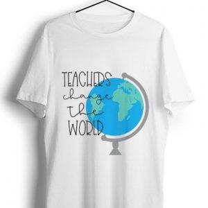 Official Teachers Change the World shirt