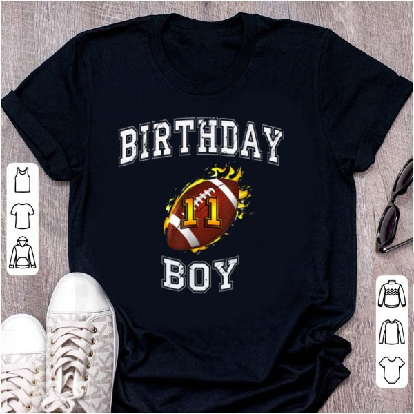 Original 11th Birthday Boy USA Football shirt