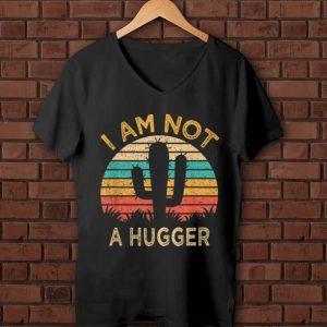 Original Am Not A Hugger Cactus Avoid Hugs shirt
