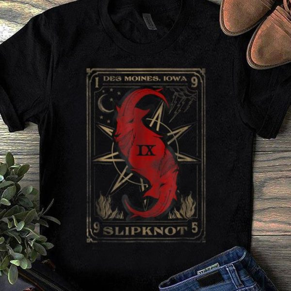 Original Slipknot Tarot Card Goat shirt