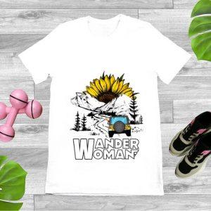 Original Wander Women Jeep Camping Mountain Sunflower shirt