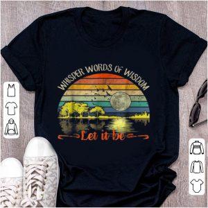Original Whisper Words Of Wisdom Let It Be Vintage Guitar Lake shirt