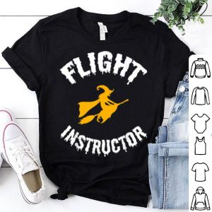Premium Flight Instructor Witch Halloween shirt