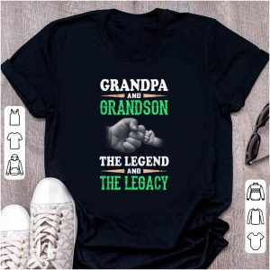 Premium Grandpa And Grandson the Legend And The Legacy shirt