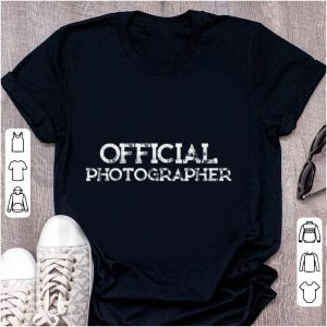 Premium Official Photographer shirt