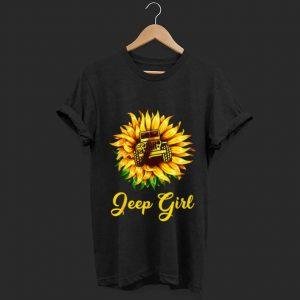 Premium Sunflower Jeep Girl shirt