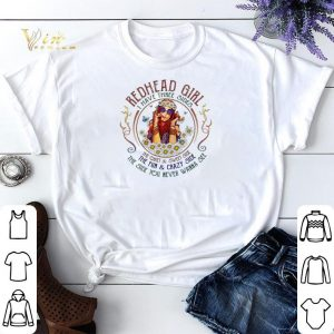 Redhead girl i have three sides the quiet & sweet side the fun shirt sweater