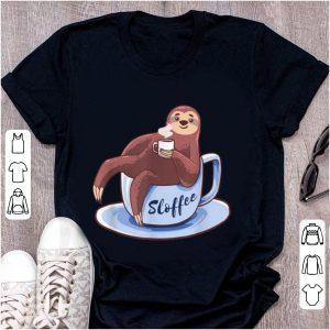 Top Sloffee Sloth Lying On A Cup Of Coffee Sloffee Meme