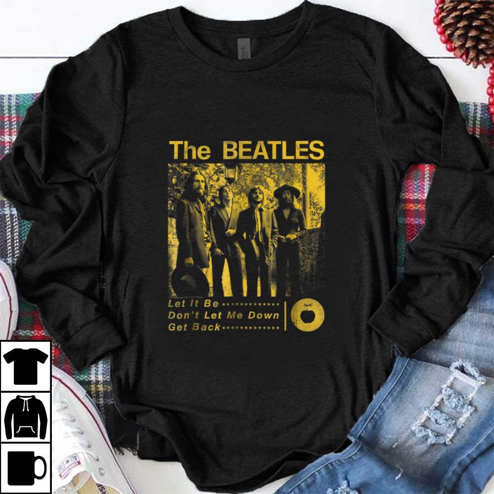 Top The Beatles Sepia 1969 shirt 1 1 - Top The Beatles Sepia 1969 shirt