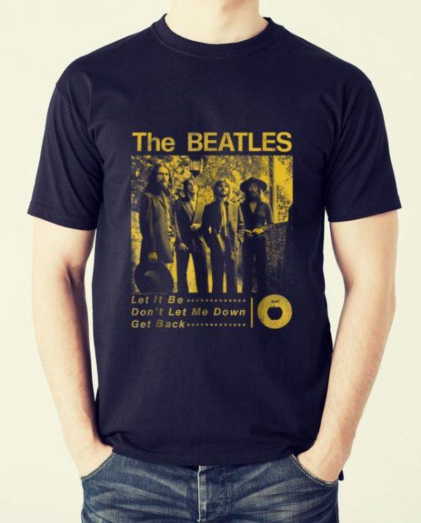 Top The Beatles Sepia 1969 shirt