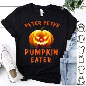 Awesome Peter Peter Pumpkin Eater Couples Halloween Costume shirt