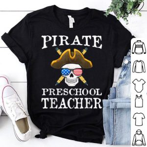 Awesome Preschool Teacher Halloween Party Costume shirt