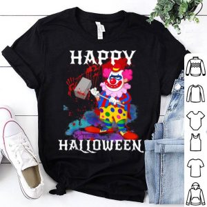 Awesome Psycho Killer Clown Happy Halloween Party shirt