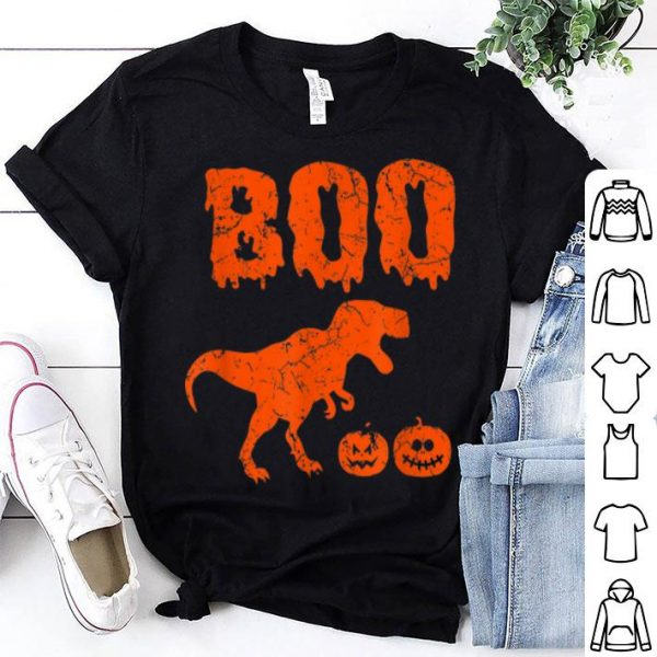 Beautiful T Rex Dinosaur Pumpkin Unique Funny Halloween shirt