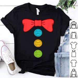 Clown Costume Suit Bow Tie Funny Halloween shirt