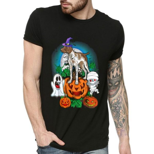 German Shorthaired Pointer Halloween shirt