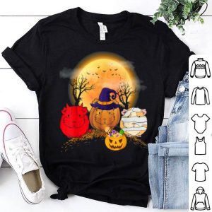 Hot Guinea Pigs Happy Halloween, Cute Mummy Witch Demon Satan shirt