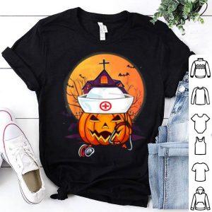Official Nurse Pumpkins Halloween Matching Group Costume Scrubs Gifts shirt