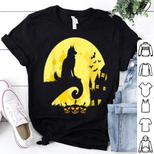 Original Best Siberian Husky Dog Moon Halloween Costume shirt