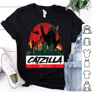 Original CATZILLA - Funny Kitty for Cat lovers cat owner halloween shirt