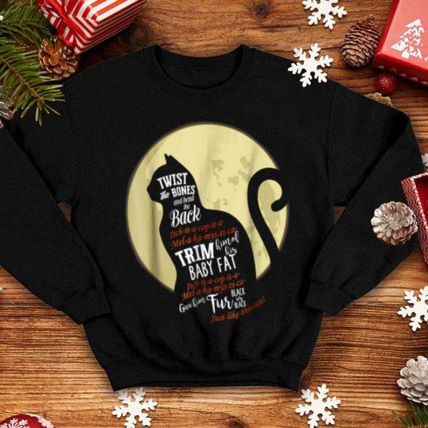 Original Thackery Binx Cat Halloween Black Cat Quote Spell shirt