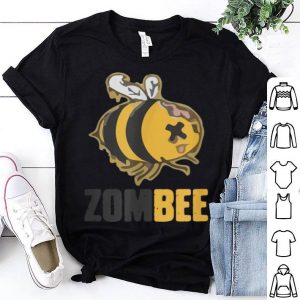 Original ZomBee Funny Zombie Bee Halloween Lazy Costume Humor shirt