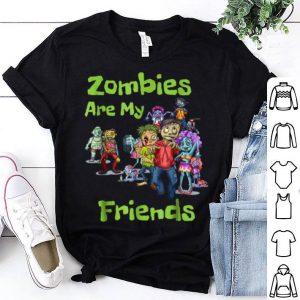 Original Zombies Are My Friends Halloween shirt