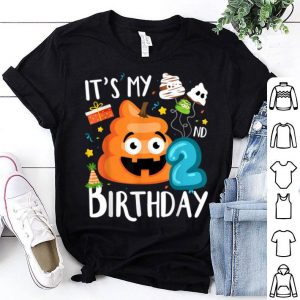 Premium It's My 2nd Birthday Poop Halloween Birthday Kids shirt