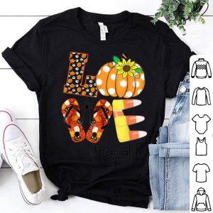 Premium Love nana life- Halloween sunflower shirt