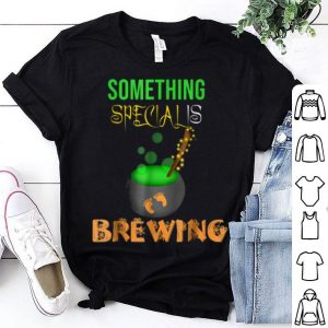 Premium Something Special Is Brewing Halloween Pregnancy shirt