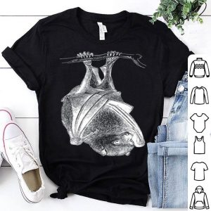 Real Hanging Bat For Halloween shirt