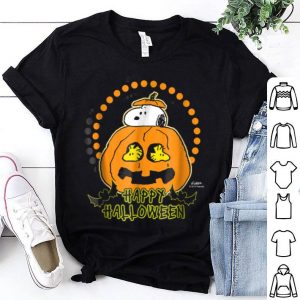 Top Peanuts Happy Halloween Pumpkin shirt