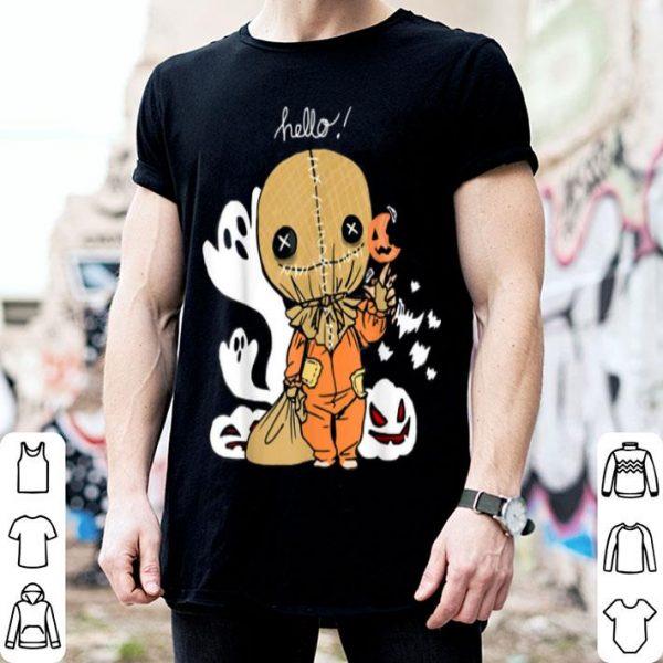 Trick R Treat Funny Cute Sam Halloween 2019 Costume shirt
