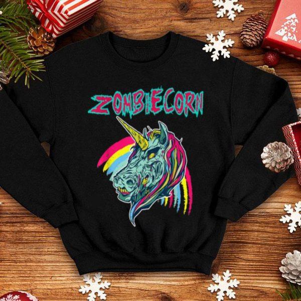 Zombiecorn Halloween Unicorn Zombie shirt