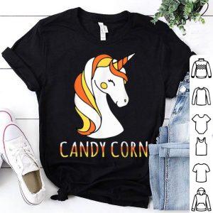 Awesome Candy Corn Unicorn Halloween shirt