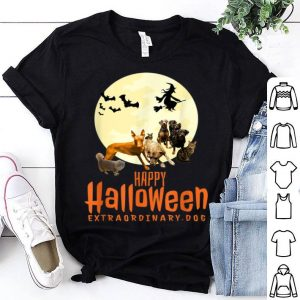 Awesome Happy Halloween with Extraordinary Dogs and Cats shirt