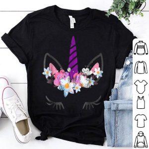 Awesome Unicorn Face Halloween shirt