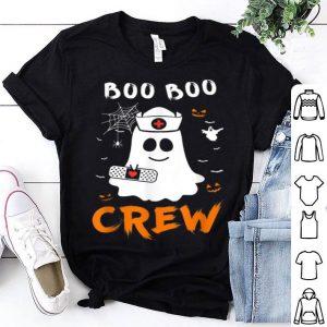 Funny Boo Boo Crew Nurse Ghost Funny Halloween shirt