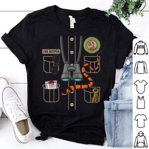 Hot Zookeeper Costume Party Halloween shirt