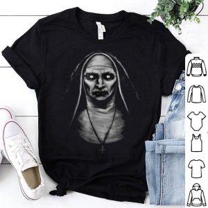 Hot evil demon nun Halloween shirt