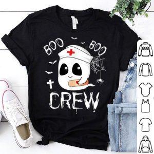 Official Boo Boo Crew Nurse Ghost Funny Halloween Nursing Gifts shirt