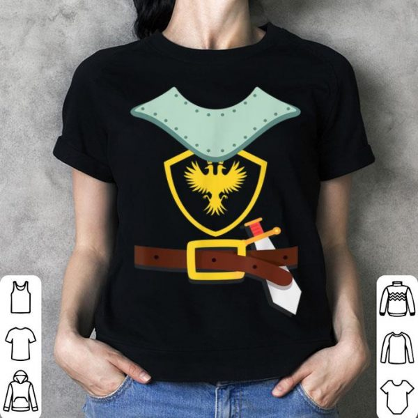 Official Knight In Shining Armor Sword Suit Halloween Costume shirt