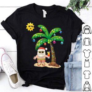 Original Summer Santa Claus Christmas Mele Kalikimaka Aloha shirt