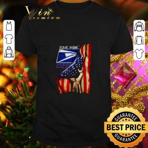 Premium 4th of July independence day your name US Postal Service shirt
