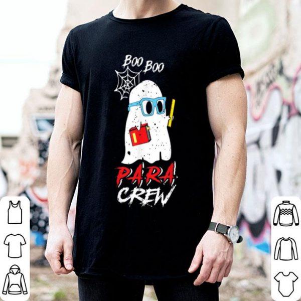 Premium Halloween Costume Boo Boo Para Crew Paraprofessional Gift shirt