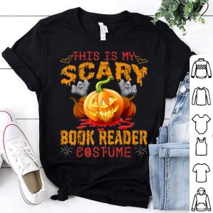 Premium This Is My Scary Book Reader Costume Halloween Gift shirt