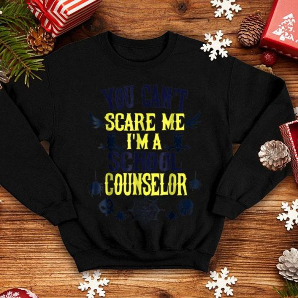 Premium You Can't Scare Me I'm a School Counselor Halloween shirt