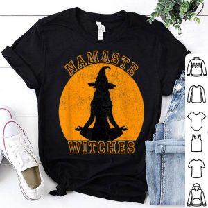 Top Namaste Witches Halloween Costume Men Women Gift shirt