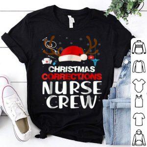Awesome Christmas Correction Nurse Crew Christmas Xmas Gifts shirt
