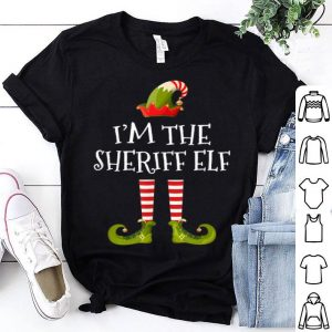 Awesome I'm the Sheriff Elf Cute Gift Tee Matching Family Christmas shirt
